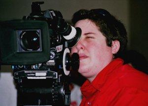 Director Kami Chisholm on the set of